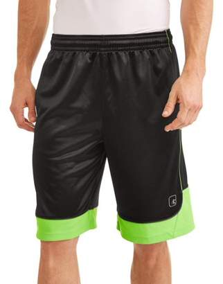 AND 1 AND1 Big Men's All Courts Color Block Basketball Short