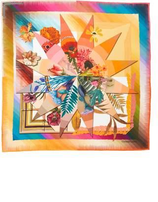 Christian Lacroix Cristian Lacroix Botanic Silk Scarf