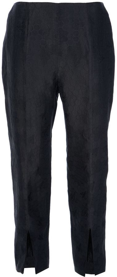 Alexander McQueen cropped trouser