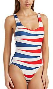 Solid & Striped WOMEN'S ANNE-MARIE TIGER-STRIPED ONE-PIECE SWIMSUIT