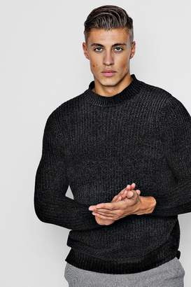 boohoo Chenille Turtle Neck Jumper