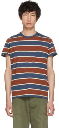 Levi's Clothing Tricolor Casual Stripe T-Shirt