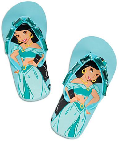 Disney Jasmine Flip Flops for Girls