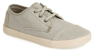 Women's Toms 'Paseo' Perforated Sneaker $58.95 thestylecure.com