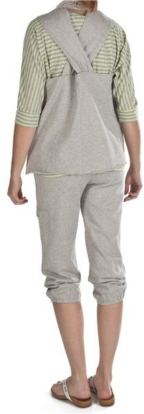 Nomadic Traders Crop Sweatpants - Stretch Cotton Terry (For Women)