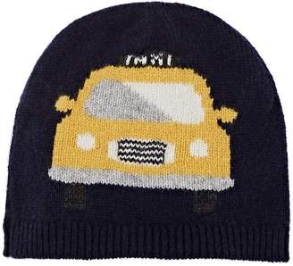Barneys New York Kids' Taxi-Knit Cashmere Hat