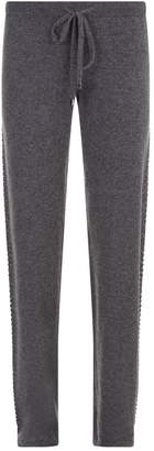 William Sharp Embellished Cashmere Sweatpants