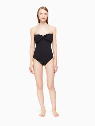 Kate Spade Georgica beach bandeau one-piece swimsuit
