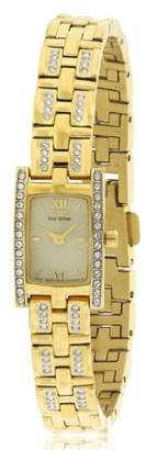 Citizen Women's Eco-Drive Silhouette Swarovski Crystal Watch, EG2352-52P