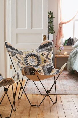 Urban Outfitters Quilted Butterfly Chair Cover