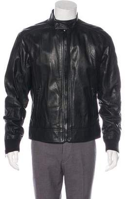 Dolce & Gabbana Lambskin Leather Jacket
