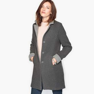Anne Weyburn Straight Double-Sided Coat