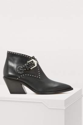 Givenchy Elegant Studs cowboy ankle boots