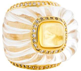 Angélique de Paris Parfum Cocktail Ring
