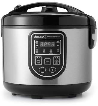 AROMA Professional 20 Cup (Cooked) Digital Rice Cooker, Food Steamer, & Slow Cooker