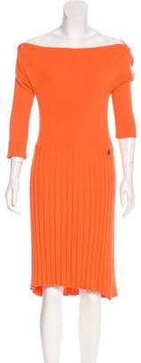 See by Chloe Long Sleeve Midi Dress