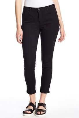Democracy High Rise Tummy Control Ankle Skinny Jeans (Petite)