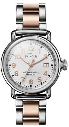 Shinola The Runwell Bracelet Watch, 36mm