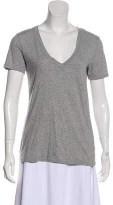 Frame Short Sleeve V-Neck T-Shirt