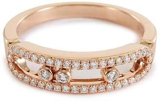Möve Messika 'Baby Pavé' diamond 18k rose gold ring