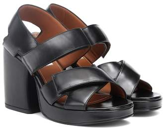 Kenzo Aori leather sandals