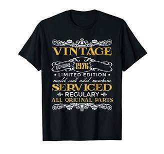 Vintage Made In 1976 All Original Parts 42nd Birthday Shirt