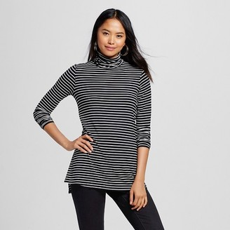 Women's Long Sleeve Turtleneck Tee - Mossimo $19.99 thestylecure.com
