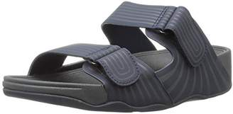 FitFlop Men's Gogh Moc Pool Slide Adjustable Flip Flop