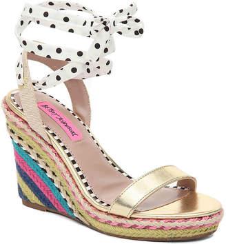 Betsey Johnson Colvin Espadrille Wedge Sandal - Women's