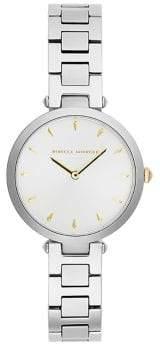 Rebecca Minkoff Nina Stainless Steel Analogue Bracelet Watch