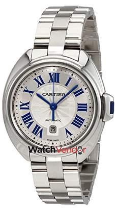 Cartier Women's 31mm Steel Bracelet Automatic -Tone Dial Watch Wscl0005