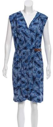 MICHAEL Michael Kors Sleeveless Knee-Length Dress
