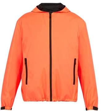 Prada Shell Hooded Jacket - Mens - Coral