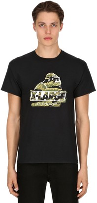 XLarge X Large Camo Og Printed Cotton Jersey T-shirt