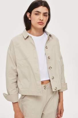 NATIVE YOUTH Awkward Cropped Jacket