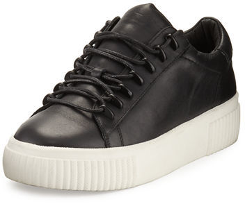 KENDALL + KYLIE Reese Leather Low Top Sneaker