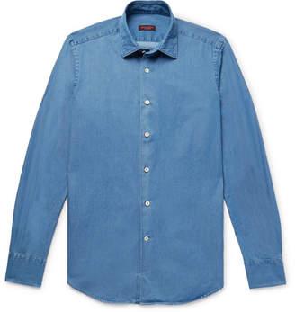 Incotex Kurt Slim-Fit Cotton-Chambray Shirt