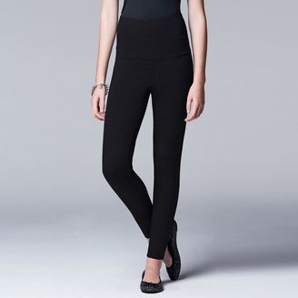 Simply Vera Vera Wang Women's Shaper Leggings $32 thestylecure.com