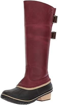 62ce21e70f0 Sorel Women s Slimpack Riding Tall II Mid Calf Boot Redwood