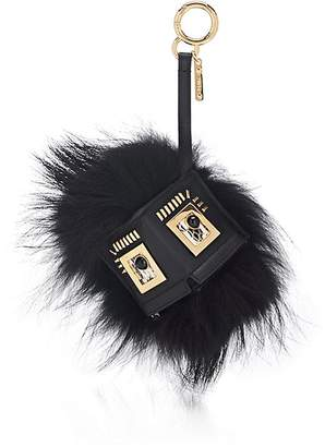 Fendi Women's Leather & Fur Coin Purse Bag Charm