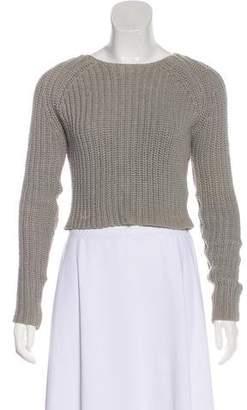 Alexander Wang Rib-Knit Crop Sweater