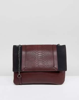 Nali Double Chain Strap Crossbody Bag