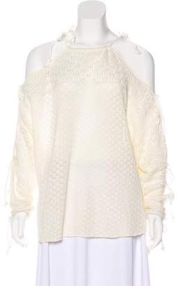 See by Chloe Knit Long Sleeve Sweater