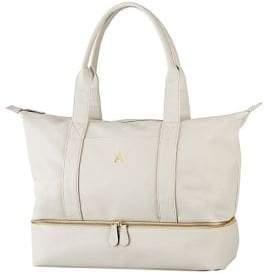 Cathy's Concepts Embossed Vegan Leather Weekender Bag