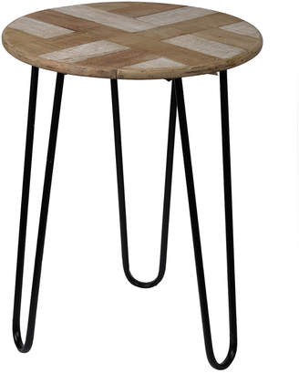 A&B Home Prescott Round Side Table
