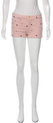 Etoile Isabel Marant Low-Rise Pattern Shorts