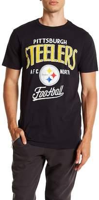 Junk Food Clothing Pittsburgh Steelers Kick Off Crew Tee