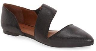 Lucky Brand 'Madysonn' Almond Toe Flat $78.95 thestylecure.com