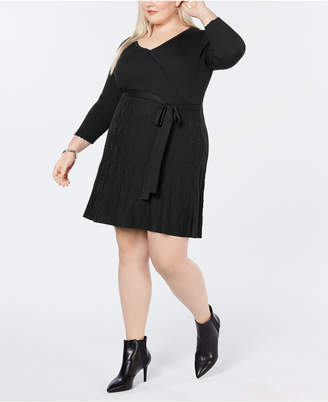 Plus Size Fit And Flare Dress - ShopStyle