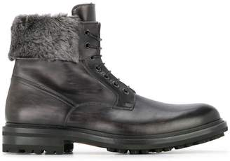 Magnanni fur detail boots